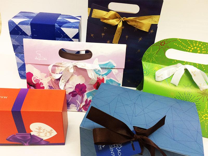 Embalagens para kits presenteáveis